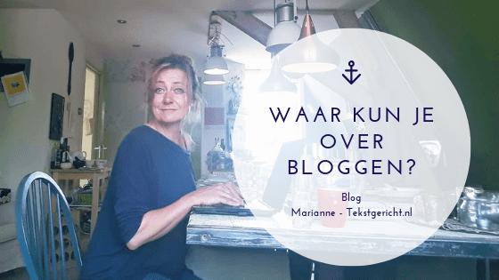 Waar kan ik toch over bloggen?