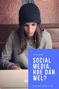 Social media hoe dan wel marianne canters specialist