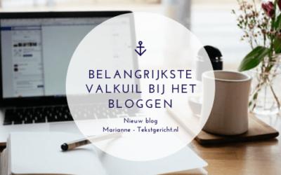 De grootste en belangrijkste valkuil bij het bloggen