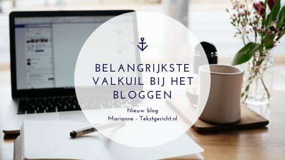 Belangrijkste valkuil bij het bloggen marianne cursus bloggen ondernemers