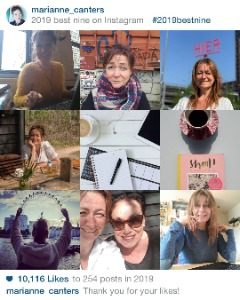 best nine instagram marianne canters