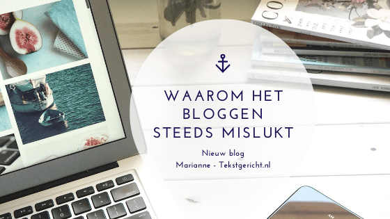 bloggen mislukt blogexpert marianne canters