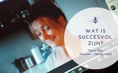 Wat is succesvol zijn?