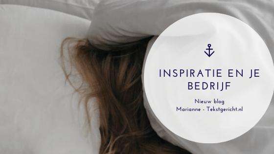 Inspiratie en je bedrijf