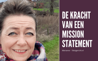 De kracht van een mission statement in jouw ondernemerschap