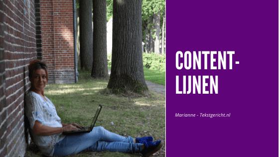 Contentlijnen in je contentstrategie