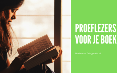 Proeflezers voor je boek