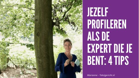 Jezelf profileren als expert: 4 tips