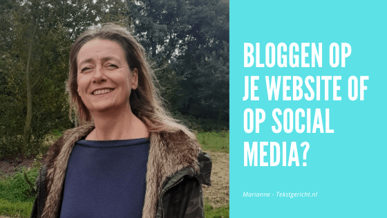 Bloggen website of social media schrijfcoach contentstrategie ondernemers