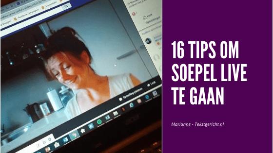 Soepel live gaan 16 tips contentstrategie