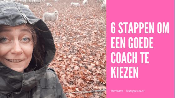 In 6 stappen een goede coach kiezen
