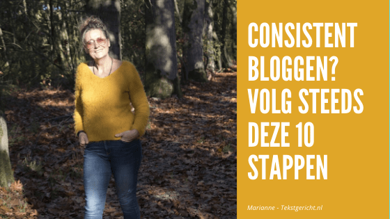 Consistent bloggen in 10 stappen