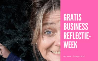 Reflecteren op je ondernemerschap en bedrijf