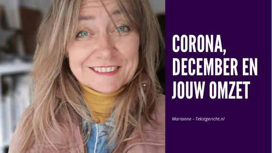 Corona, december en jouw omzet