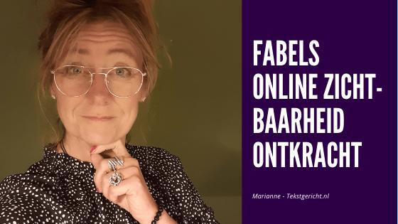 Fabels over jouw online zichtbaarheid ontkracht