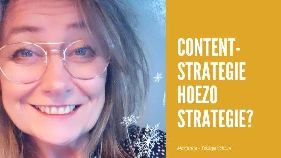 Contentstrategie – hoezo strategie?