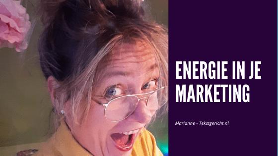 Energie in je marketing – hoe enthousiast ben jij?