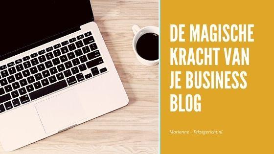 magische kracht business blog marianne schrijfcoach ondernemers