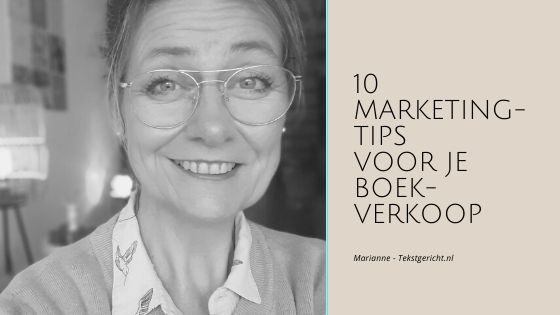 10 marketingtips voor je boekverkoop