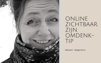 Waarom online zichtbaar zijn zo lastig en tegelijk krachtig is: omdenktip