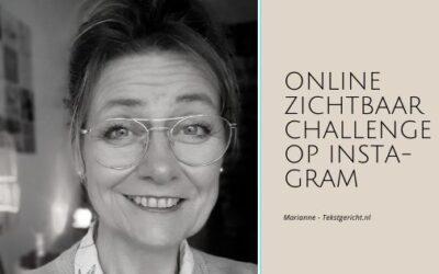 Online zichtbaarheid: challenge op Instagram