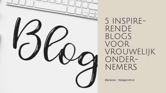 Blog inspiratie
