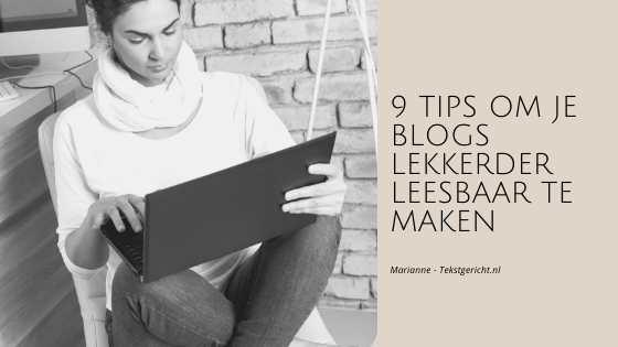 9 tips blogs leesbaar marianne schrijfcoach ondernemers