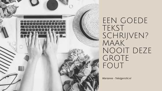 grote fout tekst marianne schrijfcoach ondernemers