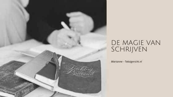de magie van schrijven marianne schrijfcoach ondernemers