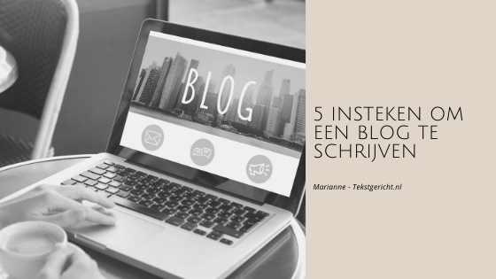 insteken blog schrijven marianne schrijfcoach ondernemers