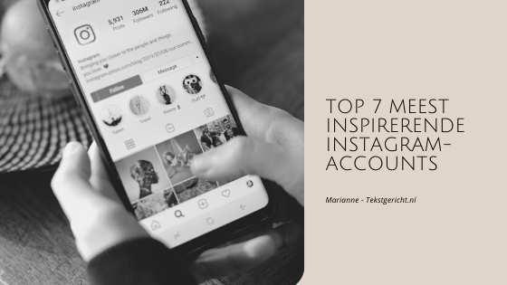 inspirerende instagram accounts marianne schrijfcoach ondernemers