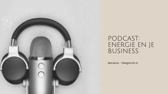 Energie en je business